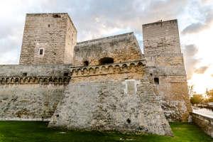 Burg Svevo Bari Altstadt Italien