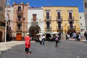 Bari Altstadt Italien Puglia Apulien