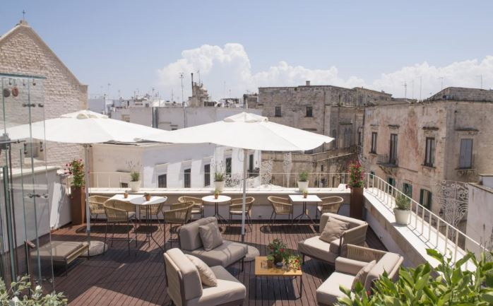 Top 5 Romantik Luxus-Hotels in Polignano a Mare 2